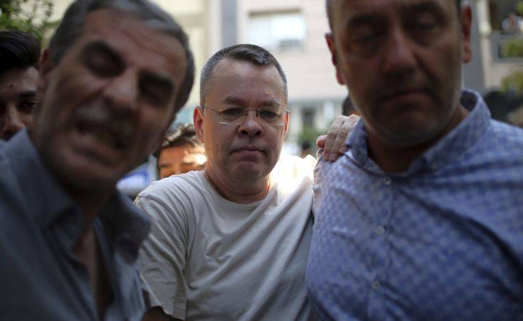 Ερντογάν: Το δικαστήριο θα αποφασίσει για την τύχη του Αμερικανού πάστορα