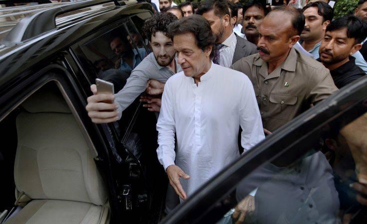 Ο Ίμραν Χαν εξελέγη νέος πρωθυπουργός του Πακιστάν