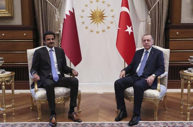 Το Κατάρ υποσχέθηκε άμεσες επενδύσεις ύψους 15 δις. δολαρίων στην Άγκυρα