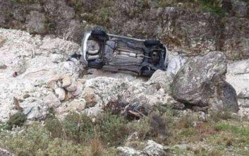 Αυτοκίνητο έπεσε σε χαράδρα, νεκρός ο οδηγός