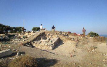Κτίριο του 4ου μ.Χ. έφεραν στο φως ανασκαφές στο Κούριο