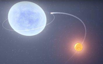 Εξωπλανήτης «χτυπά» θερμοκρασίες της τάξεως των 4.300 βαθμών Κελσίου