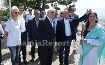 Τι ήταν αυτό που εντυπωσίασε τον Πρόεδρο της Δημοκρατίας στη Λαμία