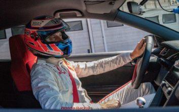 Ο Jenson Button έκανε πέμπτο ρεκόρ με το Civic Type-R