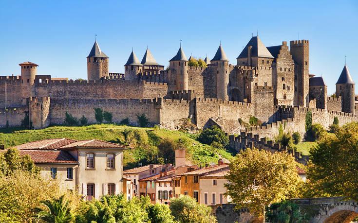 Μια μεσαιωνική καστροπολιτεία στη νότια Γαλλία