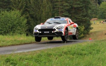 Παγκόσμιο Πρωτάθλημα FIA R-GT για το Abarth 124 Rally