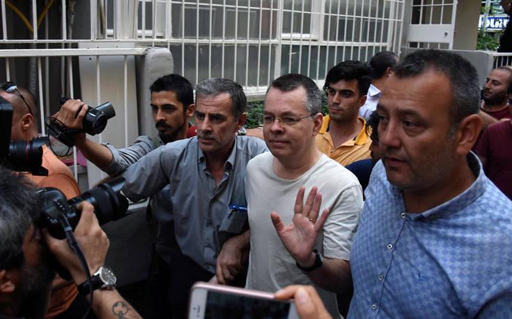 Προσφυγή κατέθεσε ο Αμερικανός πάστορας που κρατείται στην Τουρκία