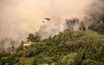 Πορτογαλία: Πιλότος ελικοπτέρου σκοτώθηκε σε κατάσβεση πυρκαγιάς