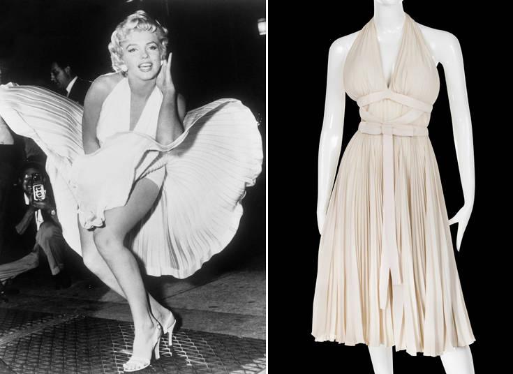 Το διάσημο λευκό φόρεμα της Μέριλιν Μονρόε σε δημοπρασία