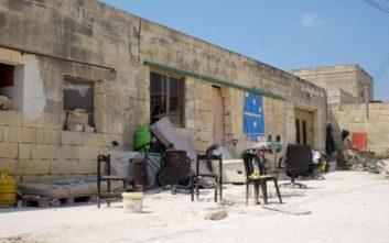«Λουκέτο» σε βουστάσιο στη Μάλτα στο οποίο διέμεναν μετανάστες