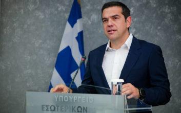 Τσίπρας: Το σημαντικό είναι να πάρουμε μέτρα, όχι να ζητάμε κάλπες στα αποκαΐδια
