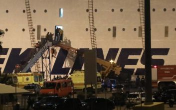 Σε εξέλιξη η αποβίβαση επιβατών από το «Ελ. Βενιζέλος»