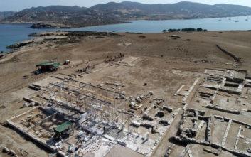 Σπουδαία ευρήματα έφερε στο φως η αρχαιολογική σκαπάνη στο ακατοίκητο νησί Δεσποτικό