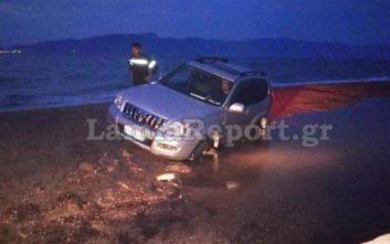 Το έδαφος «ρούφηξε» το αυτοκίνητο με την οικογένεια στην Αρκίτσα
