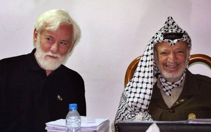 Έφυγε από τη ζωή ο πρώτος Ισραηλινός δημοσιογράφος που συνάντησε τον Αραφάτ