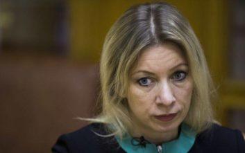 Ζαχάροβα: Δεν έχουμε εμείς την ευθύνη για την επιδείνωση των σχέσεων με την Ελλάδα