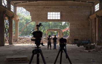 Συντρίμμια το στούντιο του Άι Γουέι Γουέι στο Πεκίνο