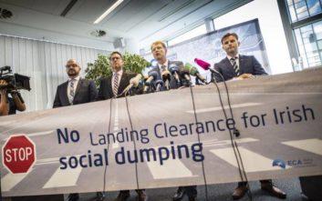 Οι πιλότοι της Ryanair στη Γερμανία εξαγγέλλουν 24ωρη απεργία