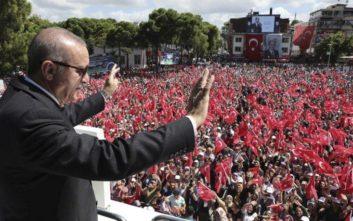 Ερντογάν: Θέμα λίγων λεπτών ο στρατός μας να φτάσει στην Κύπρο