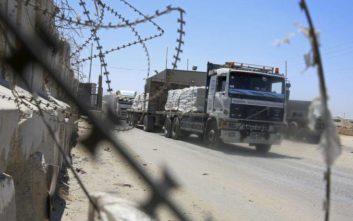 Το Ισραήλ άνοιξε ένα ζωτικής σημασίας πέρασμα στη Γάζα