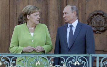 Επικοινωνία Μέρκελ - Πούτιν για τη Διάσκεψη για τη Λιβύη στο Βερολίνο
