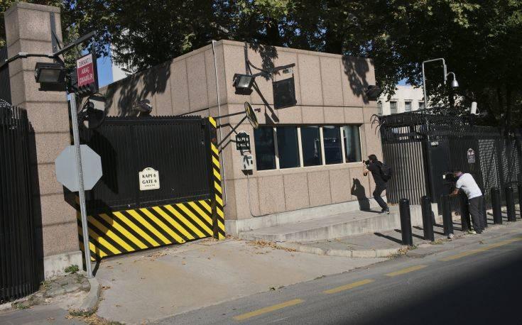 Δύο οι συλληφθέντες για τους πυροβολισμούς στην πρεσβεία των ΗΠΑ στην Άγκυρα