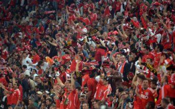 Χωρίς Ζόνας, αλλά με πάνω από 55.000 οπαδούς η Μπενφίκα