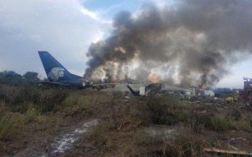 Αεροσκάφος με 97 επιβάτες συνετρίβη στο Μεξικό