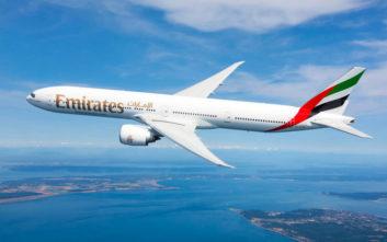 Η Emirates διατηρεί τις εμπορικές και επιβατικές πτήσεις προς 13 προορισμούς