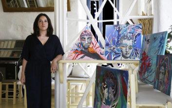 Η πρώτη έκθεση της ταλαντούχας Εύας Γρυπάρη στη Μύκονο στα όσα δεν πρέπει να χάσεις φέτος