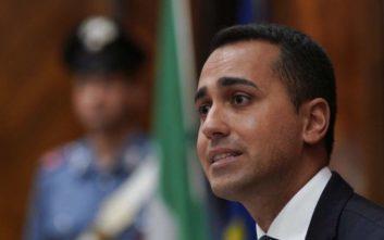 Ντι Μάιο: Η Ιταλία θα ακολουθήσει «σκληρή γραμμή» στις συζητήσεις με την ΕΕ για τους μετανάστες