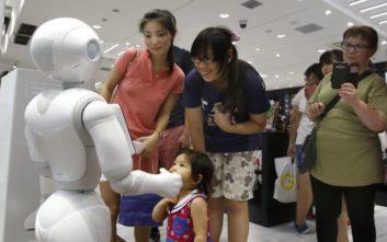 Ρομπότ θα διδάσκουν αγγλικά σε μαθητές στην Ιαπωνία