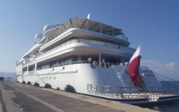 Στην ψαραγορά της Κέρκυρας ο πρώην εμίρης του Κατάρ