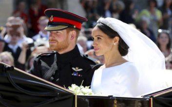 Το μονόγραμμα του πρίγκιπα Χάρι και της Μέγκαν