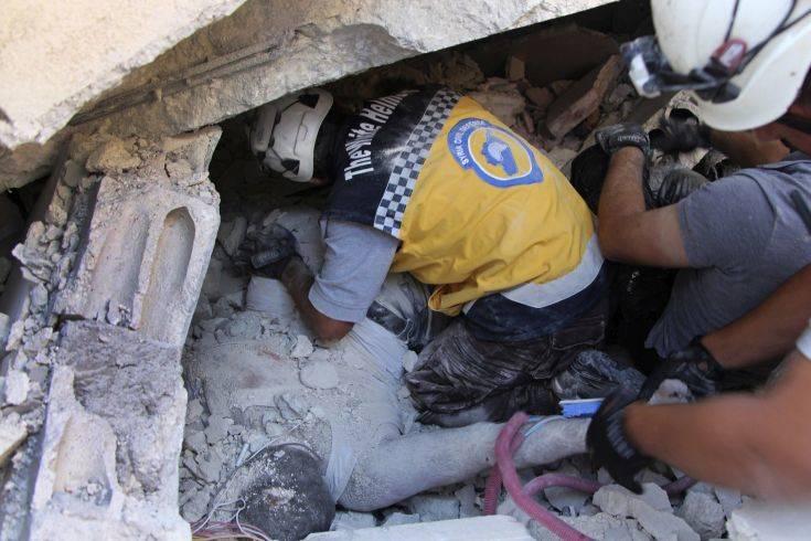 Τουλάχιστον 39 άμαχοι νεκροί από έκρηξη στη Συρία