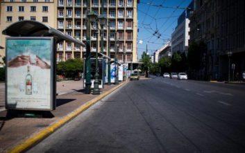 Δεκαπενταύγουστος στην άδεια Αθήνα