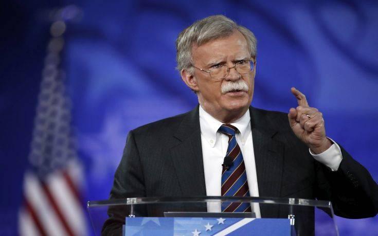 Μπόλτον: Η ιρανική δραστηριότητα παραμένει φιλοπόλεμη