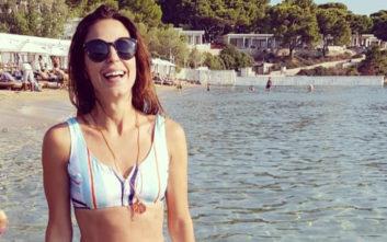 Η σέξι πόζα της Κατερίνας Παπουτσάκη από την Κρήτη