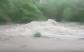 Πλημμύρες μετά τον καύσωνα στη νότια Γαλλία