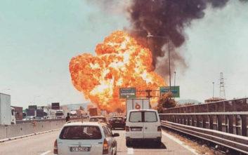 Μεγάλη έκρηξη κοντά στο αεροδρόμιο της Μπολόνια