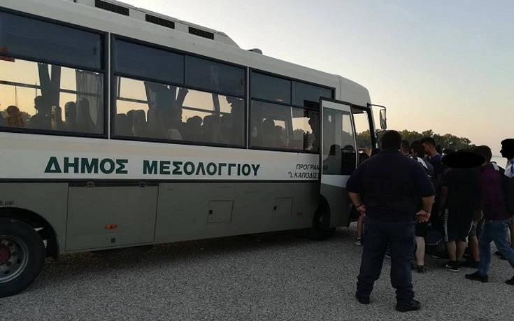 Εγκυμονούσες ανάμεσα στους 71 μετανάστες στο Μεσολόγγι