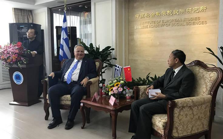 Το Μακεδονικό στα θέματα της ατζέντας Κοτζιά στην Κίνα