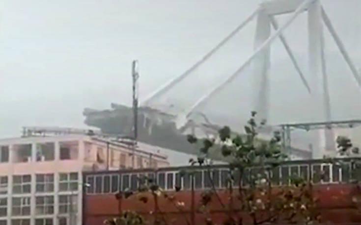 Πότε κατασκευάστηκε η γέφυρα που κατέρρευσε στη Γένοβα
