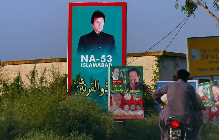 Πρωθυπουργός του Πακιστάν ο πρώην πρωταθλητής του κρίκετ Ίμραν Χαν