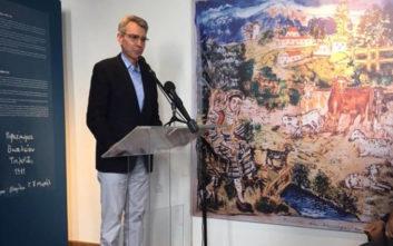 Μουσείο Τέχνης εγκαινιάστηκε στον ακριτικό Λιά από τον πρέσβη των ΗΠΑ