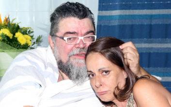 Το αντίο του Κραουνάκη στη Ρίκα Βαγιάννη: Δεν ήθελε θεραπείες, αφέθηκε στο Θεό της