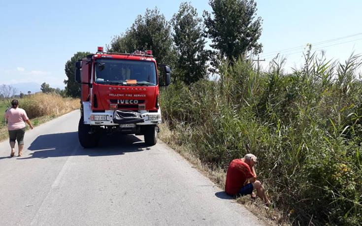 Αιματηρό τροχαίο για πενταμελή οικογένεια στις Σέρρες