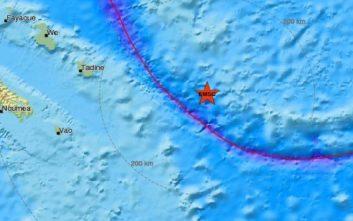 Μόλις δέκα χιλιόμετρα το εστιακό βάθος του σεισμού στον Ειρηνικό ωκεανό