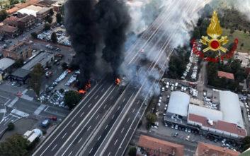 Ένας νεκρός και 55 τραυματίες από την έκρηξη στην Μπολόνια