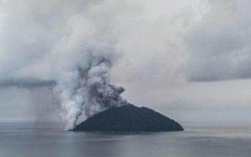 Συναγερμός από έκρηξη ηφαιστείου στην Παπούα Νέα Γουινέα